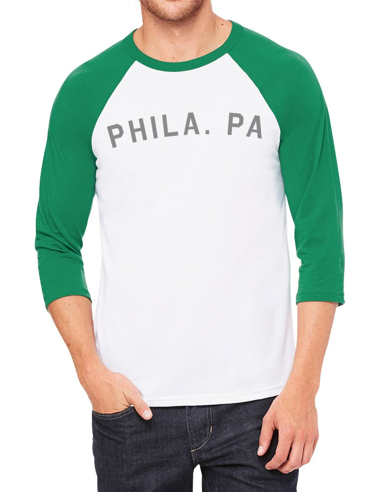 Image of Phila. PA Football 3/4-Sleeve Shirt