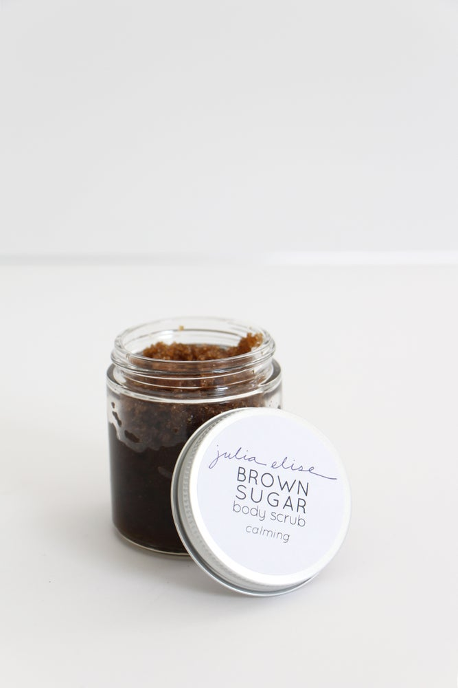 Image of brown sugar body scrub