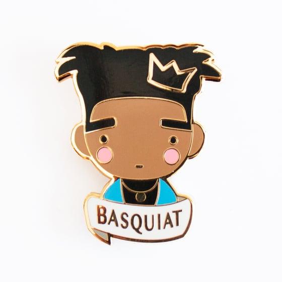 Image of BASQUIAT BROOCH
