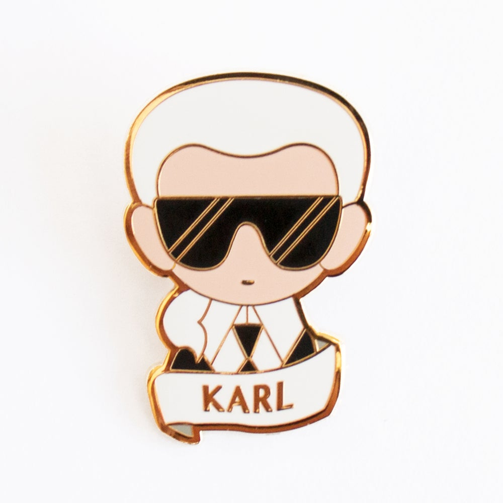 Image of KARL BROOCH
