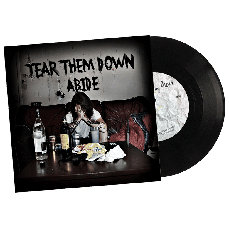 "Image of Tear Them Down Adide 7"" Vinyl!"