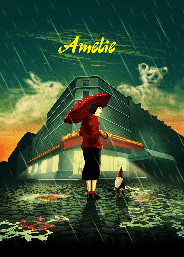 Image of Amelie | Limited Edition Signed Art Print - A4