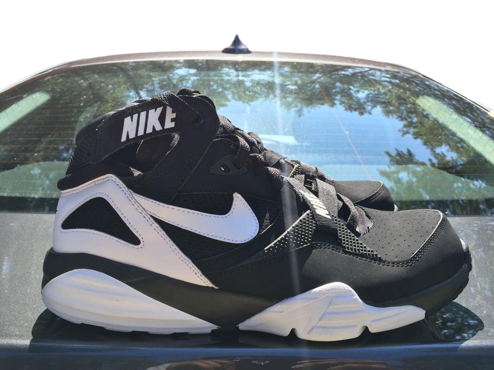 Image of Nike Air Trainer Max 91 Retro Black White Size 11
