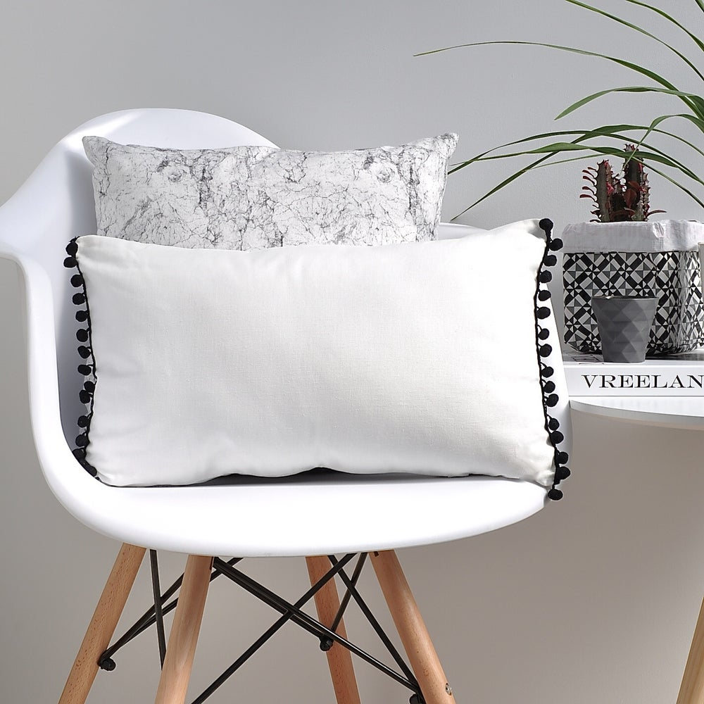 Image of Mono Bobble Edge Cushion