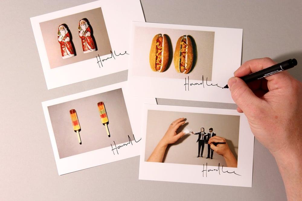Image of Set of Four Autograph Mini Prints