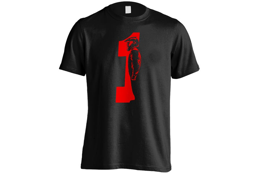 """Image of Red One """"Black"""" T-Shirt"""