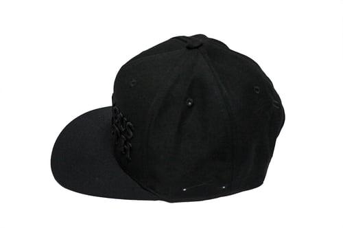 Image of RWLS Snapback Black/Black