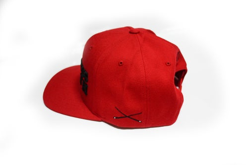 Image of RWLS Snapback Red/Black
