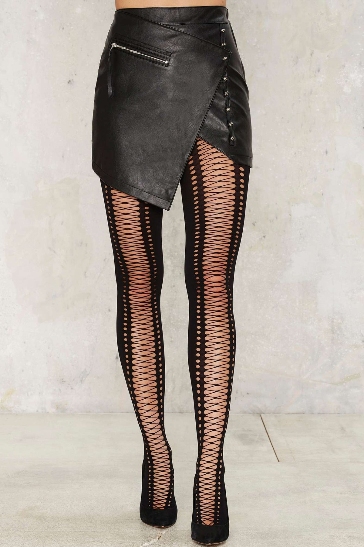 Image of Keep Me Laced Tights