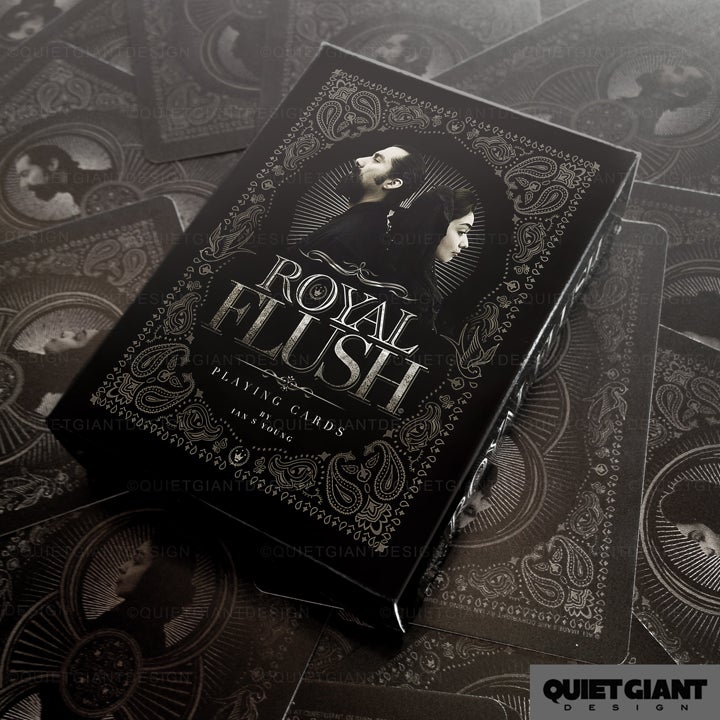 Image of ROYAL FLUSH Playing Cards