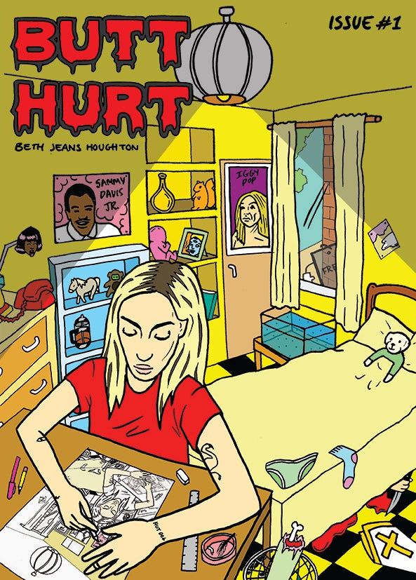 Image of 'BUTT HURT' COMIC - Issue #1 (BACK IN STOCK)