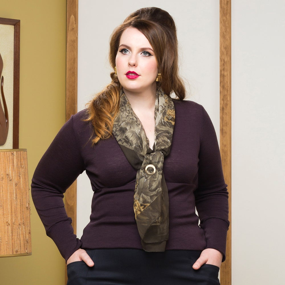 Image of FRIEDAN WOOL CARDIGAN