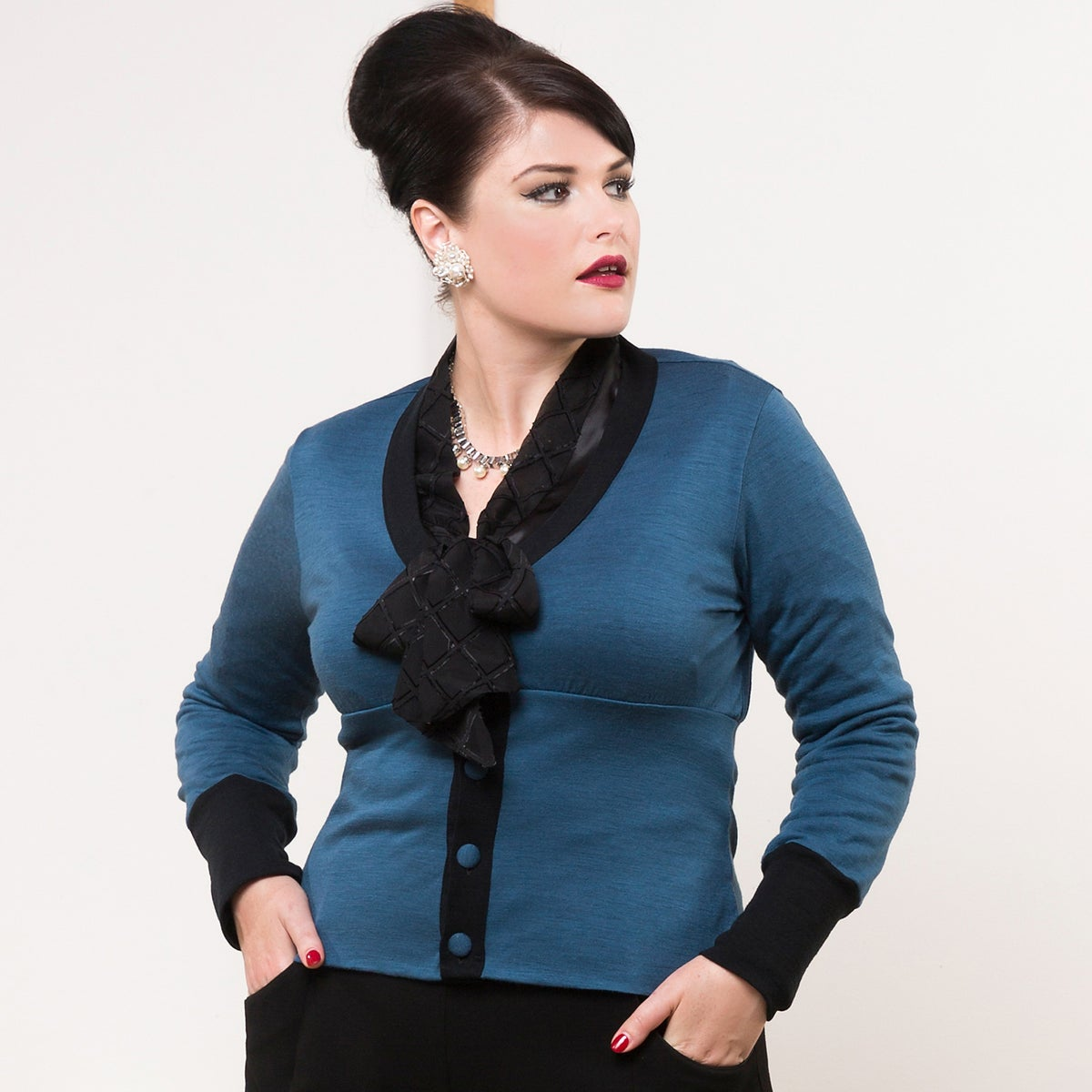 Image of FRIEDAN WOOL CARDIGAN (other options available)