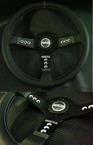 Image of NRG Steering Wheel combo setup Nissan