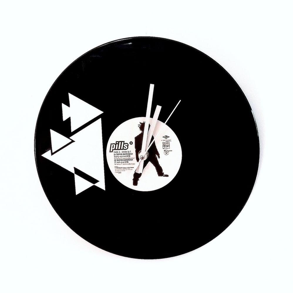 Image of Pendule vinyle - Graphik II