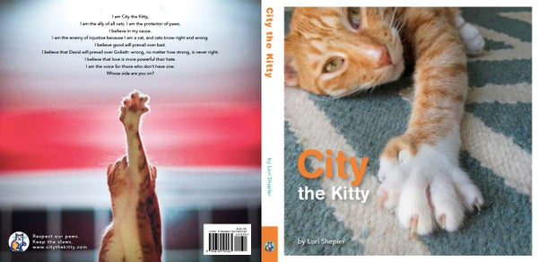 Image of City the Kitty Pawtographed Book