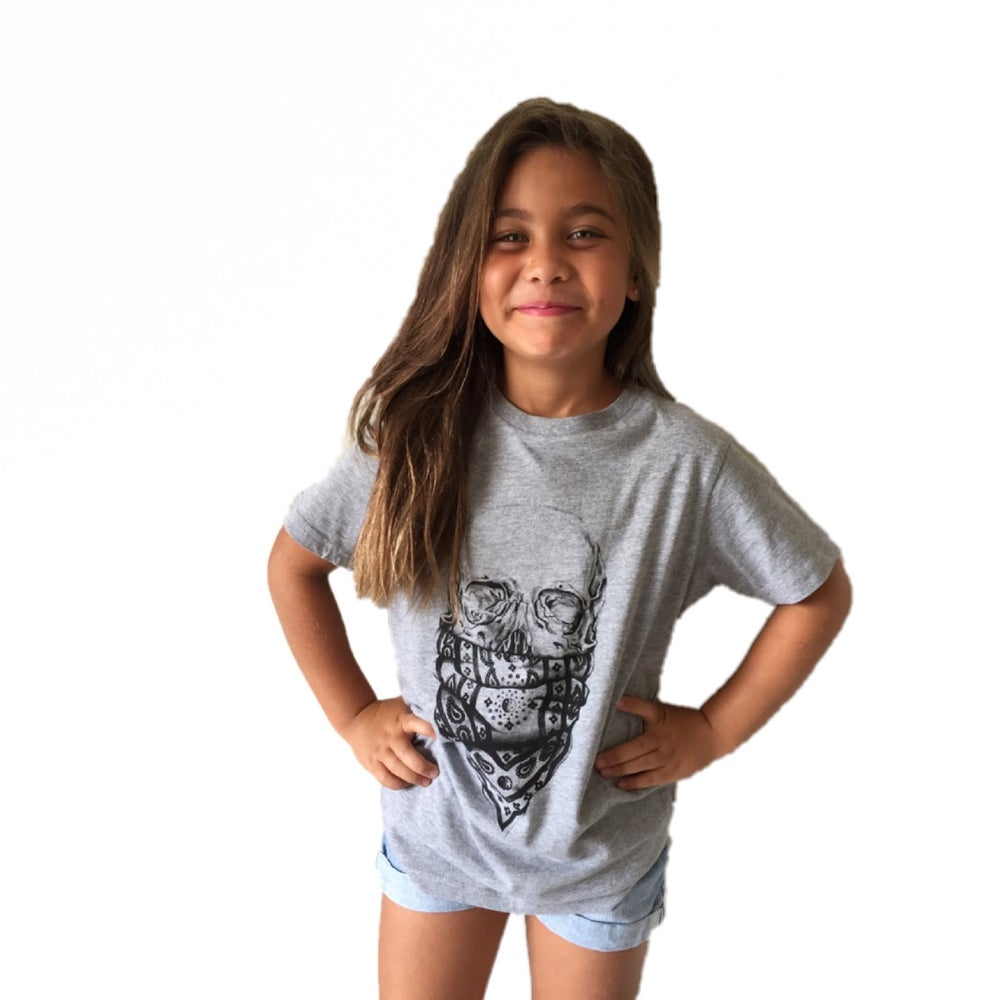 Image of Kids Skull Tee (unisex)