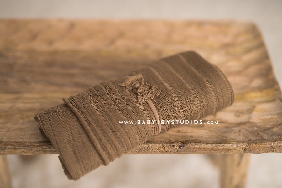 Image of NEW {Chestnut) Stretch Wrap and Headband SET