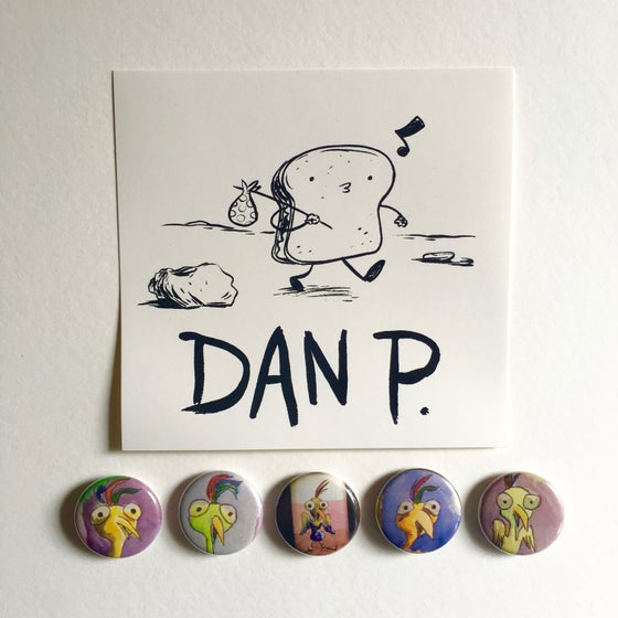 Image of Limited Edition Art Button Pack # 2