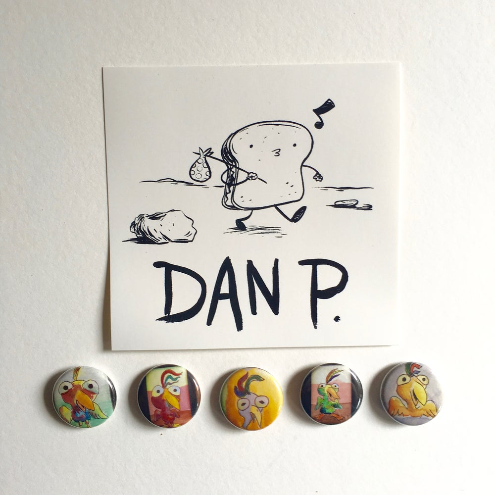 Image of Limited Edition Art Button Pack # 4