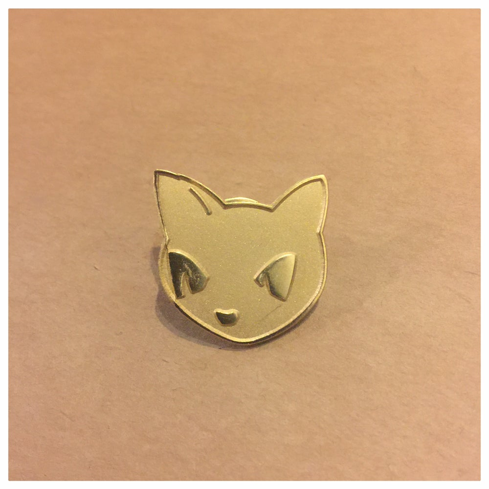 "Image of 1"" Gomi Gold Lapel Pin"