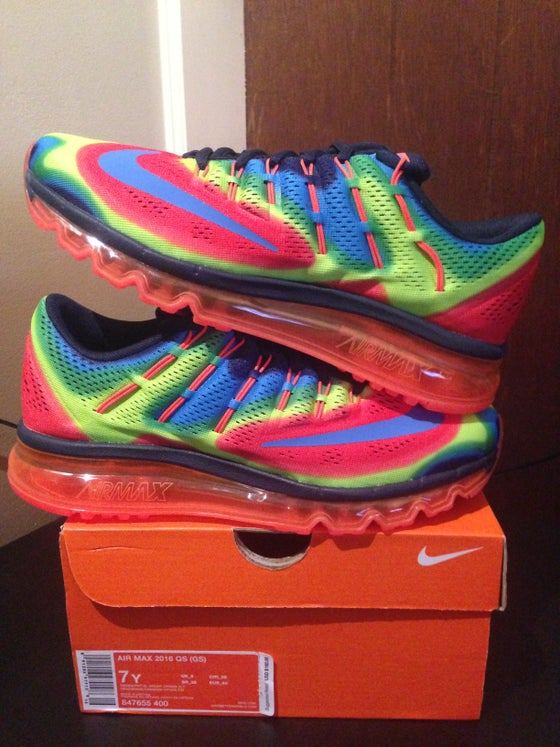"Image of Nike Air Max 2016 QS ""Heat Map Thermal Pack"" (GS)"