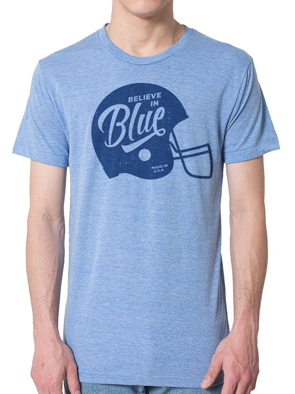 Image of BELIEVE IN BLUE - UNISEX CREW