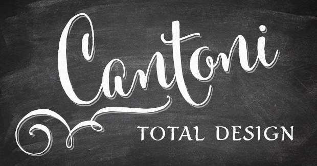Image of Cantoni Total Design Font