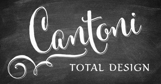 Image of Cantoni Total Design Font