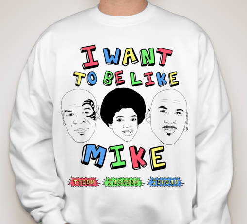 Image of I Want To Be Like Mike Crewneck