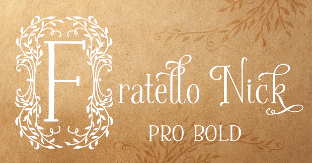 Image of Fratello Nick Pro Bold