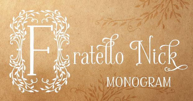 Image of Fratello Nick Monogram