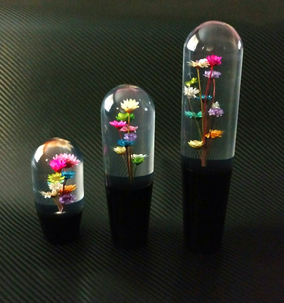 Image of Multicolor Flower Knobs
