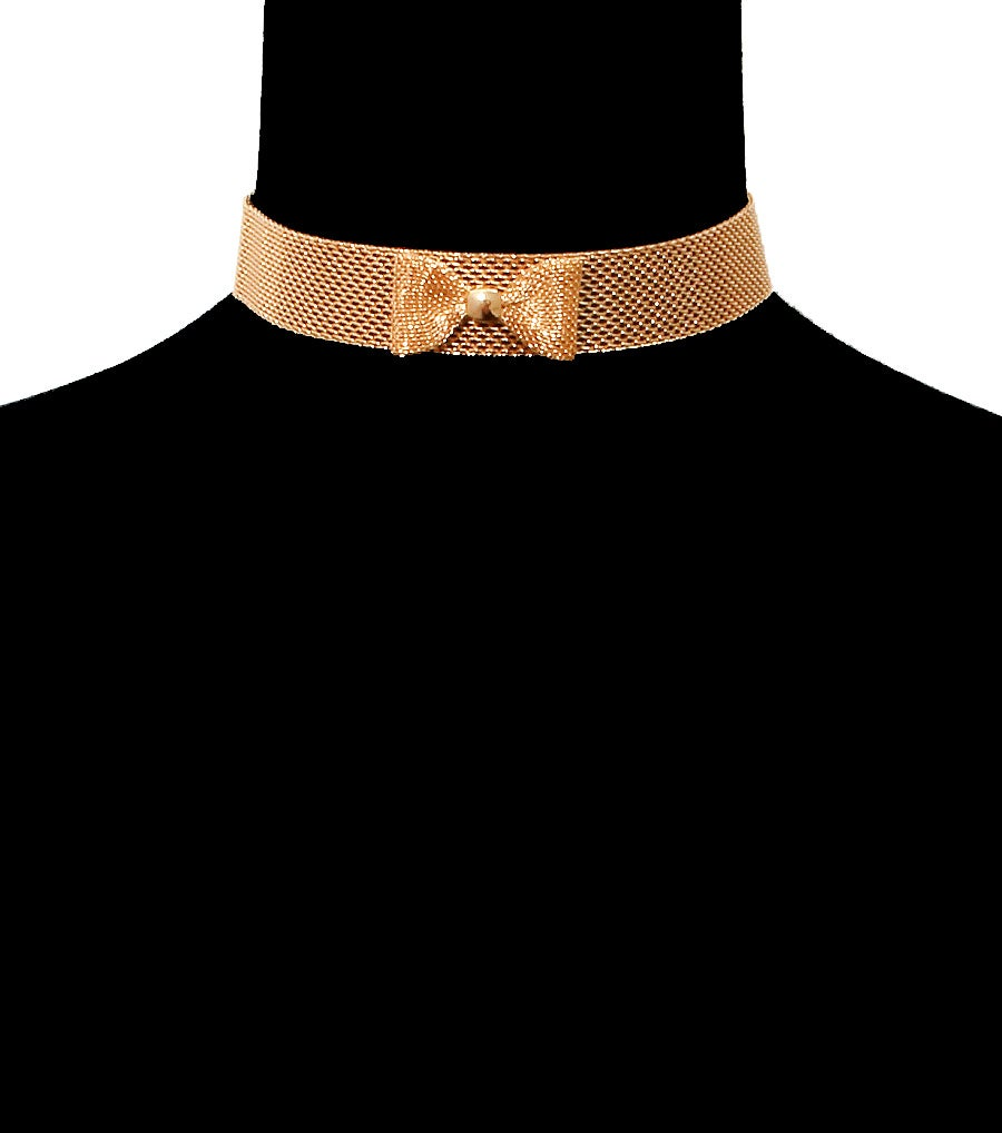 Image of Mini Bow Choker