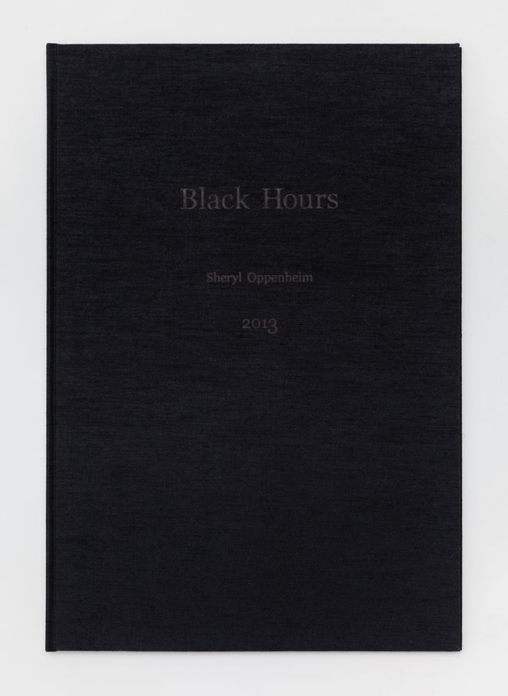 Image of Black Hours by Sheryl Oppenheim