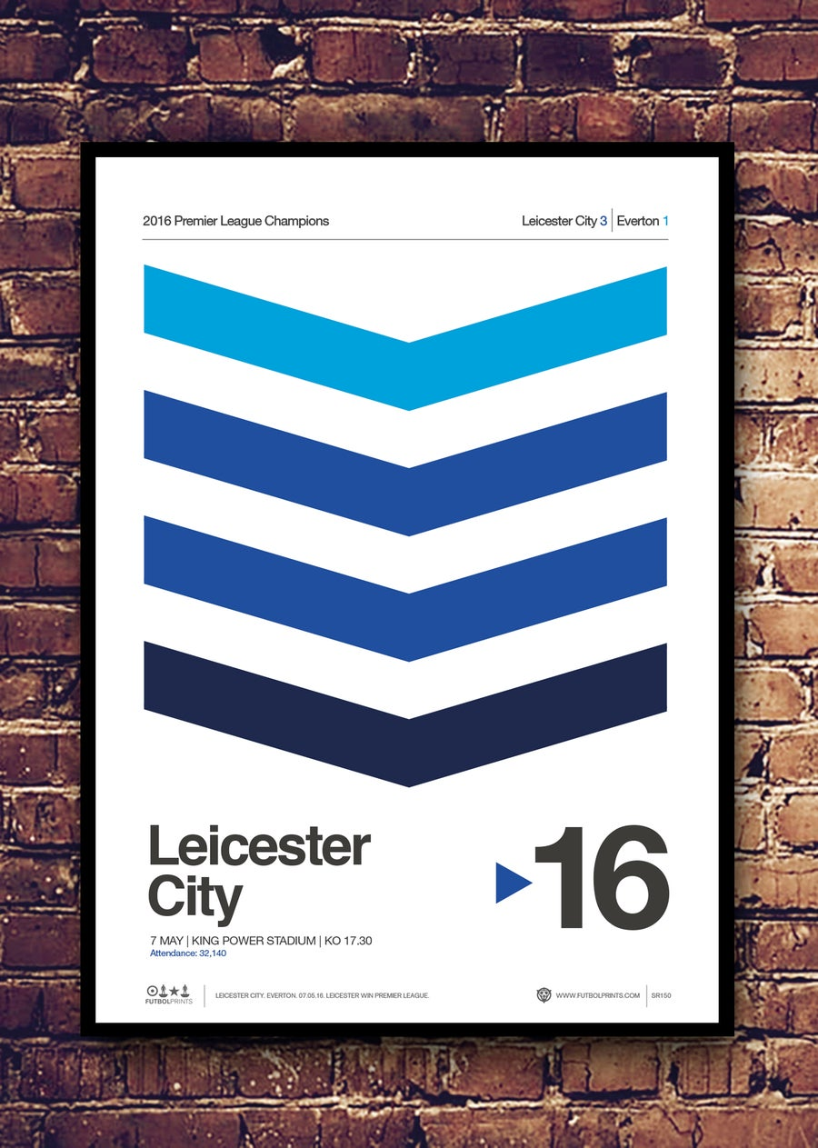 Image of LEICESTER CITY CHAMPIONS - 2016