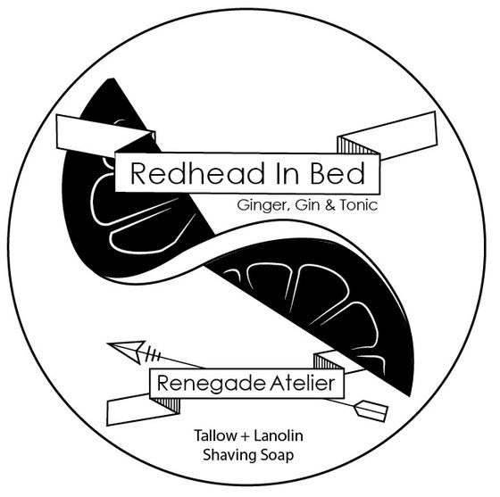Image of Redhead In Bed - Shave Soap