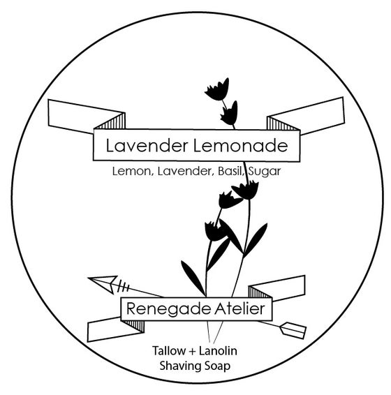 Image of Lavender Lemonade - Shave Soap