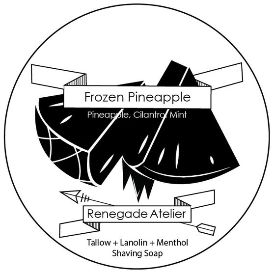 Image of Frozen Pineapple - Menthol Shave Soap
