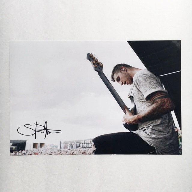 Image of Signed 8x12 STEPHEN RUTISHAUSER Print