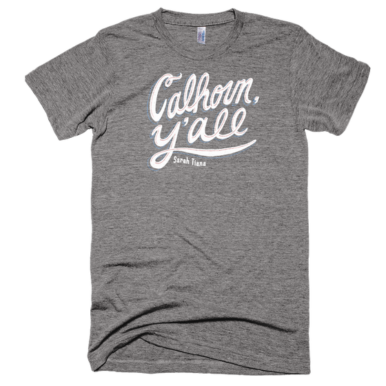 Image of CAlHOUN Y'ALL - GRAY SHIRT