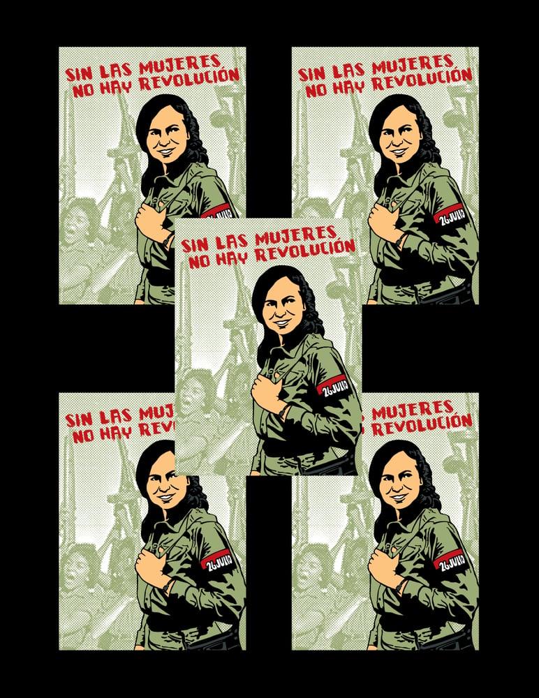 Image of Sin Las Mujeres No Hay Revolution Sticker