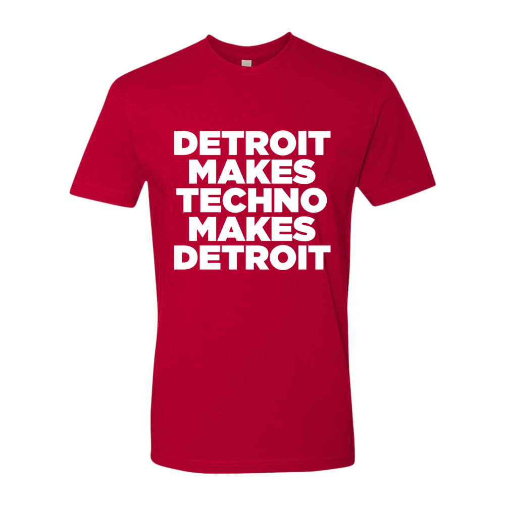 Image of Detroit Makes Techno-Red