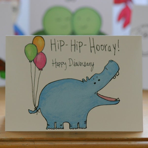Image of Hippo Diaversary (approx $5.40)