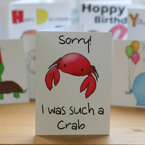 Image of Sorry Crab (approx $5.40)