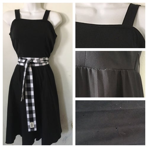 Image of 80s style Pleated Disco Dress
