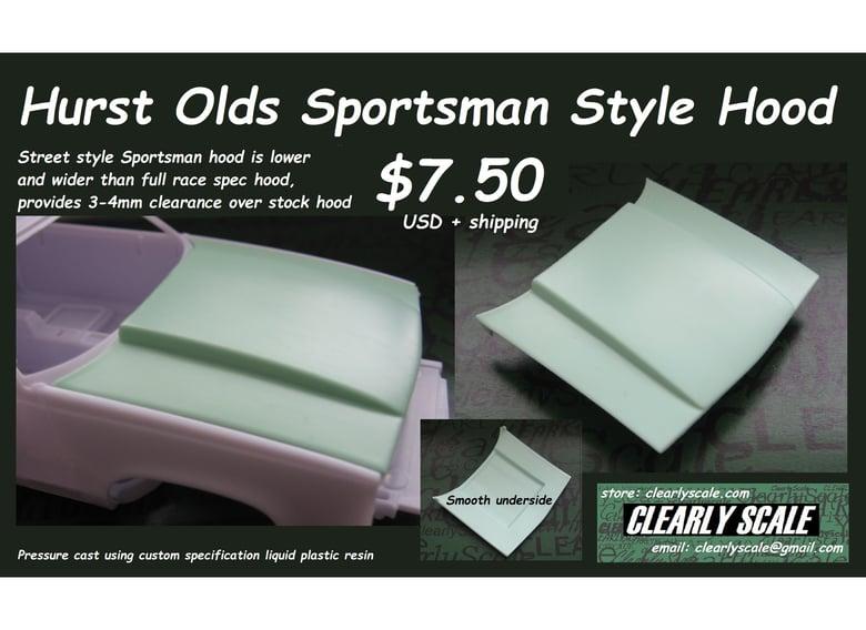 Image of Hurst Olds Sportsman Style Hood