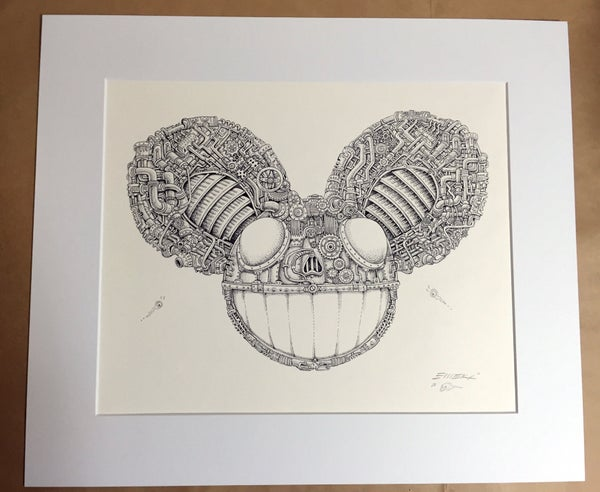 Image of Original Artwork Deadmau5 Robot by EMEK