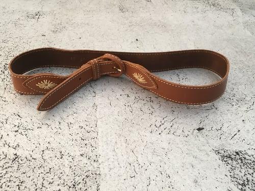 Image of Vintage Leather Cowgirl Belt