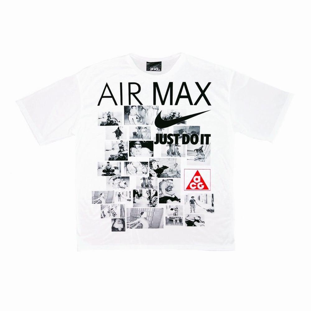 Image of DVMVGE 'ACG/AirMax x Abu Graibe' Oversize Tee